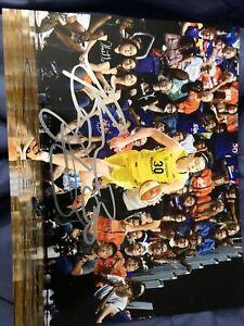 BREANNA STEWART Signed 8x10 Photo 4x WNBA Champ Storm UCONN Huskies Auto jsa