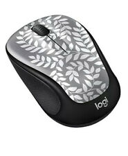 New Logitech Color Collection Wireless Mouse - Himalayan Fern Print Range 33ft