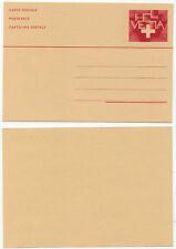 32168 - Schweiz - Ganzsache - Postkarte - ungebraucht