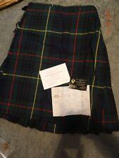 Wallace-Laird Hand stitched Ladies Modern Hunting Stewart tartan 7 metre kilt