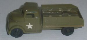 VINTAGE PYRO 1940-50's STYLE US ARMY MILITITARY TROOP SUPPLY TRUCK   LIONEL