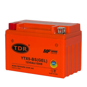 12V 9Ah Battery GEL Triumph Daytona 600/650/675 Speed Four Street Triple R YTX9