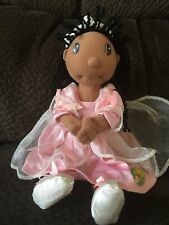 Zapf Creation Maggie Raggies Princess Claire 10� Plush Baby Doll Brown Skin