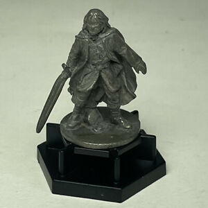 Lord Of The Rings Trivial Pursuit Pawn Replacement Piece Aragon Pewter