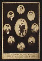 "1910's - Man Along his Life  ""Vito Spagnuoly Photographi"" CDV Cabinet Photo"