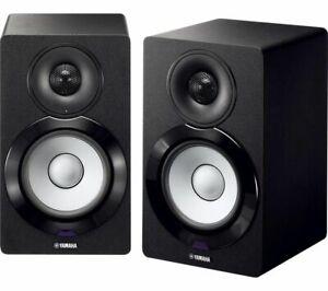 YAMAHA MusicCast NX-N500 2.0 BLUETOOTH WIFI 2.1 MONITOR SPEAKERS USB BLACK NEW