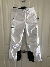 REI Girls Large (14-16) Nylon Ski Snow Pants White TS0