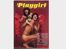 PLAYGIRL December 1973 actor JEAN PAUL VIGNON nude STACY KEACH