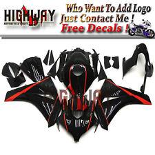 Body Injection For Honda CBR1000RR 2008-11 ABS Fairings Kit Bodywork Black Red l