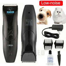 New Low-noise Electric Animal Pet Dog Cat Hair Trimmer Shaver Grooming Clipper