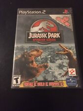 PS2 PLAYSTATION 2 JURASSIC PARK OPERATION GENESIS GAME