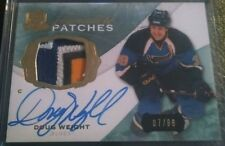 Doug Weight 2014-15 The Cup Signature Patches 4clr /99 SP-DW