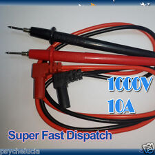 Multimeter Extension Test Lead 1000V 10A Digital Probe for UNI T Fluke Screwable