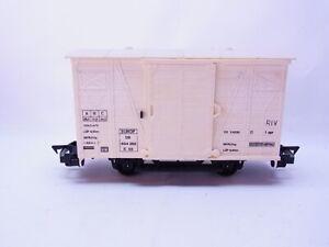 58174 Faller E-Train Gauge 0 Covered Goods Wagon 854 262 DB Beige Narrow Gauge