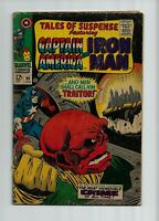 TALES OF SUSPENSE #90 (4.0) RED SKULL  Captain America COVER!!