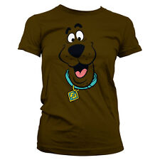 Officially Licensed Scooby Doo - Scooby Doo Face Women's T-Shirt S-XXL Sizes