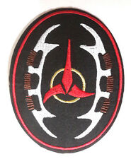 "Star Trek Klingon Bat'leth  4.5"" Patch- Lincoln Enterprises-FREE S&H (STPAL-054)"