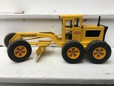 "Vintage TONKA ""Road Grader"" Pressed Steel Construction Vehicle Toy"