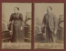 People & Portraits Collectable Antique CDVs (Pre-1940)