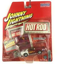 Johnny Lightning Hot Rod Mag Fireball 500 Modified Plymouth Cuda Die Cast 1/64