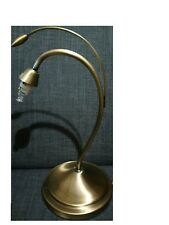 Vintage Metal Desk Lamp Gold