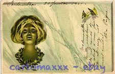 Art Nouveau - Style Kirchner - Beautiful Woman, Belle Femme - L132