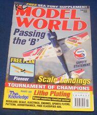 RC MODEL WORLD MAGAZINE FEBRUARY 2000 - PASSING THE 'B'