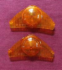 1965 Buick Riviera Parking Lenses Set Amber