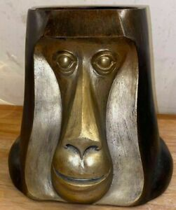 latex mould  for Making this Lovely Large Monkey plant pot