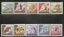 Russia SC # 2359-2368 17th Olympic Games, Rome 1960 CTO. Hinged