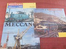 LOT 3 CATALOGUE  MECCANO  ( ref 44 )