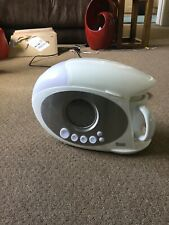 Swan STM200N Teasmade In White With Blue Clock Face BNIB