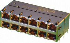 Molex 2x6 PoE Module LED Magnetic HyperJack RJ45 Ethernet GIGABIT 85586-1005