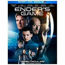 Enders Game (Blu-ray/DVD, 2014, 2-Disc Set) Ender's Game