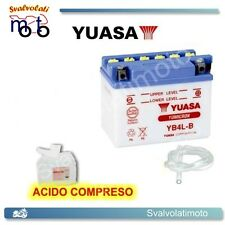 BATTERIA YUASA CON ACIDO MALAGUTI F12 PHANTOM 50 RST AIR 2003 2004 2005 SCOOTER