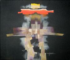 Cuban Painting. PEDRO DE ORAA. mixed media on canvas 2007.