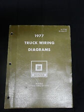 1977 GM Truck Wiring Diagram Manual for Models 10-1500 thru 30-3500