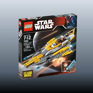 LEGO Star Wars 7669 - Anakin's Jedi Starfighter ('08) - NEU