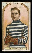 1911-12 C55 IMPERIAL TOBACCO ~ #3 ~ BARNEY HOLDEN (QUEBEC BULLDOGS)