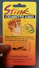 Stink Cigarette Cigar Load Funny Prank Joke Gag Gift Magic Trick SMELLS NASTY!!!