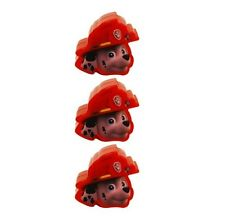 3x Paw Patrol Marshall Red Figural Easter Eggs Treat Container Party Favor 3ct