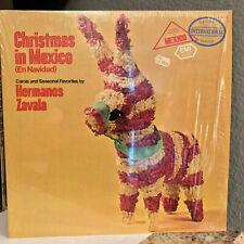 """FELIZ NAVIDAD - Hermanos Zavala Christmas In Mexico - 12"""" Vinyl Record LP - EX"""