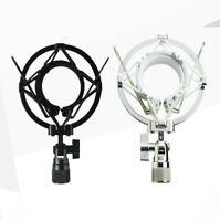 Plastic Shock Mount Mic Holder For 48-54mm Diameter Condenser Studio Microphone