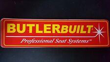 Butlerbuilt Professional Seat System Decals