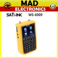 Satlink WS6909 Combo Satellite Terrestrial TV Finder Meter for DTV FOXTEL VAST