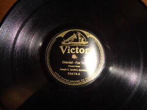 """1919 VICTOR 12"""" 78/Joseph C.Smith's Orchestra/Banta&Frey-Pianos"""