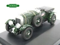 BNIB OO GAUGE OXFORD 1:76 76BB003 Bentley Blower British Racing Green Car