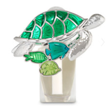BATH & BODY WORKS GREEN SEA TURTLE FISH NIGHTLIGHT WALLFLOWER FRAGRANCE PLUG IN
