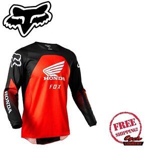 FOX RACING 180 HONDA MX DIRT MOTO RIDING JERSEY RED/BLACK 28152-017 FREE SHIPPIN