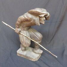 sculpture bois : le chouan